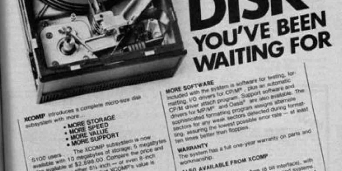 El costo por gigabyte a lo largo de los años