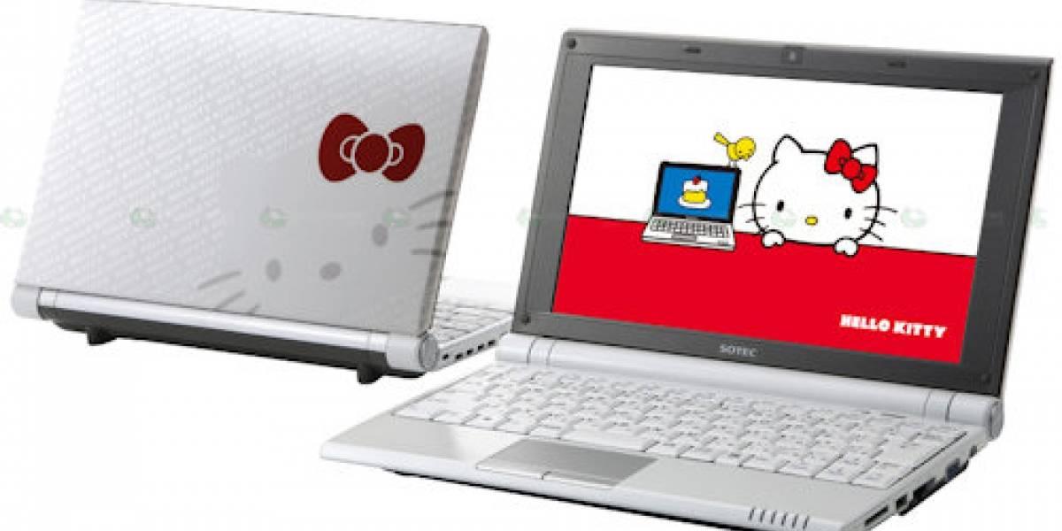 Sotec lanza el primer sub-notebook de Hello Kitty