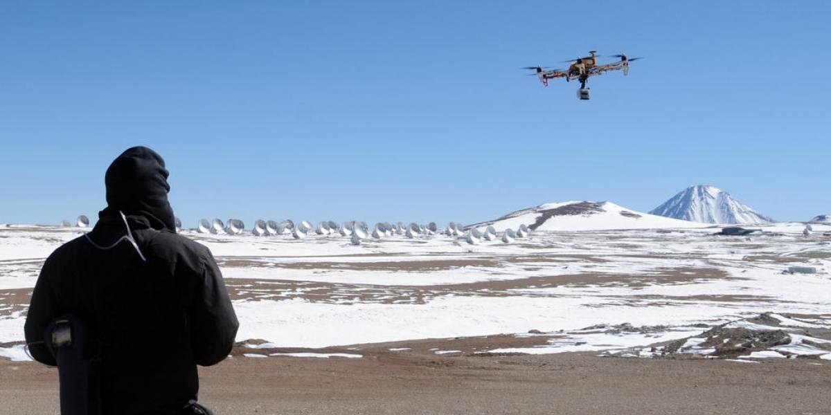 Cómo hacer volar un hexacóptero a 5.000 metros de altura