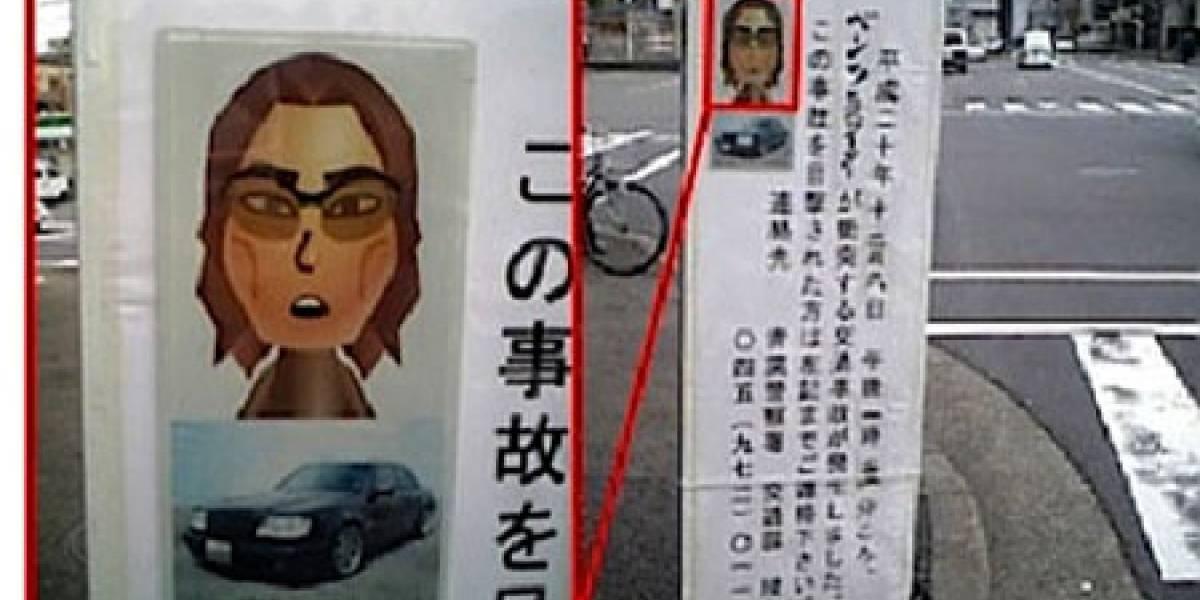 Policía japonesa usa un Wii-Mii para identificar a un sospechoso