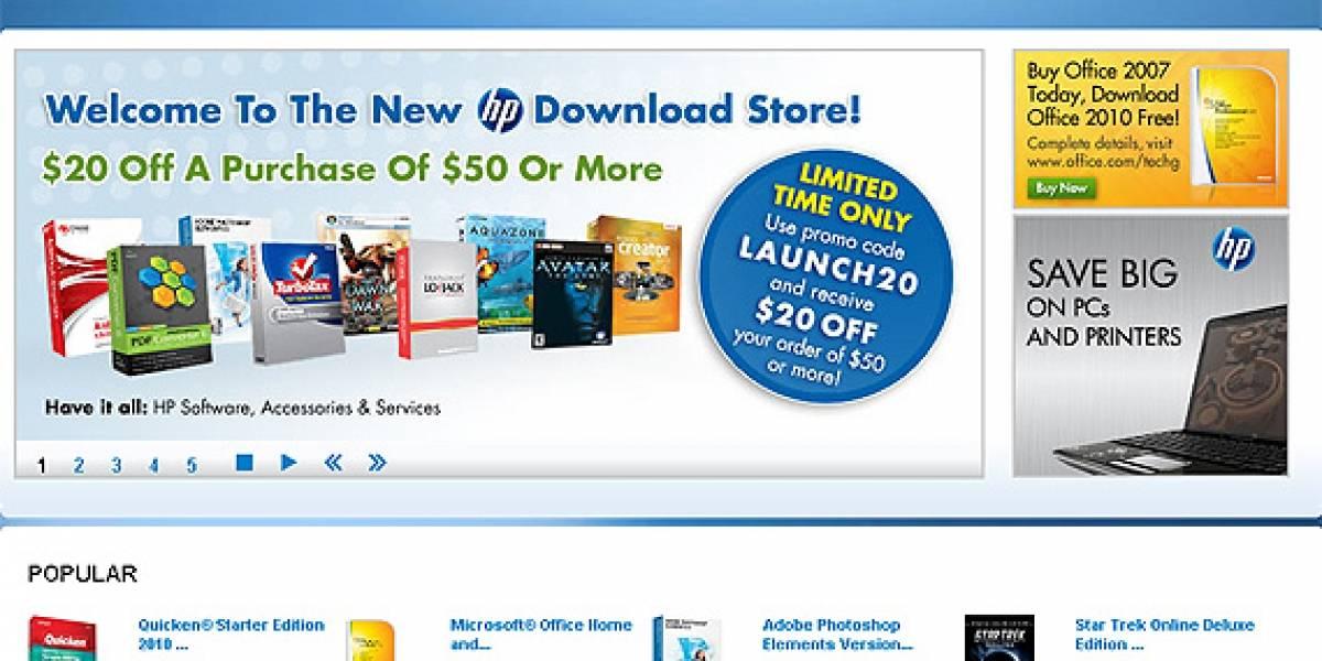 HP Download Store: Tienda de software y servicios HP