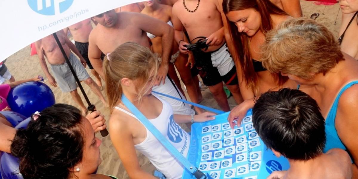 Argentina: HP buscará nuevos talentos en la playa