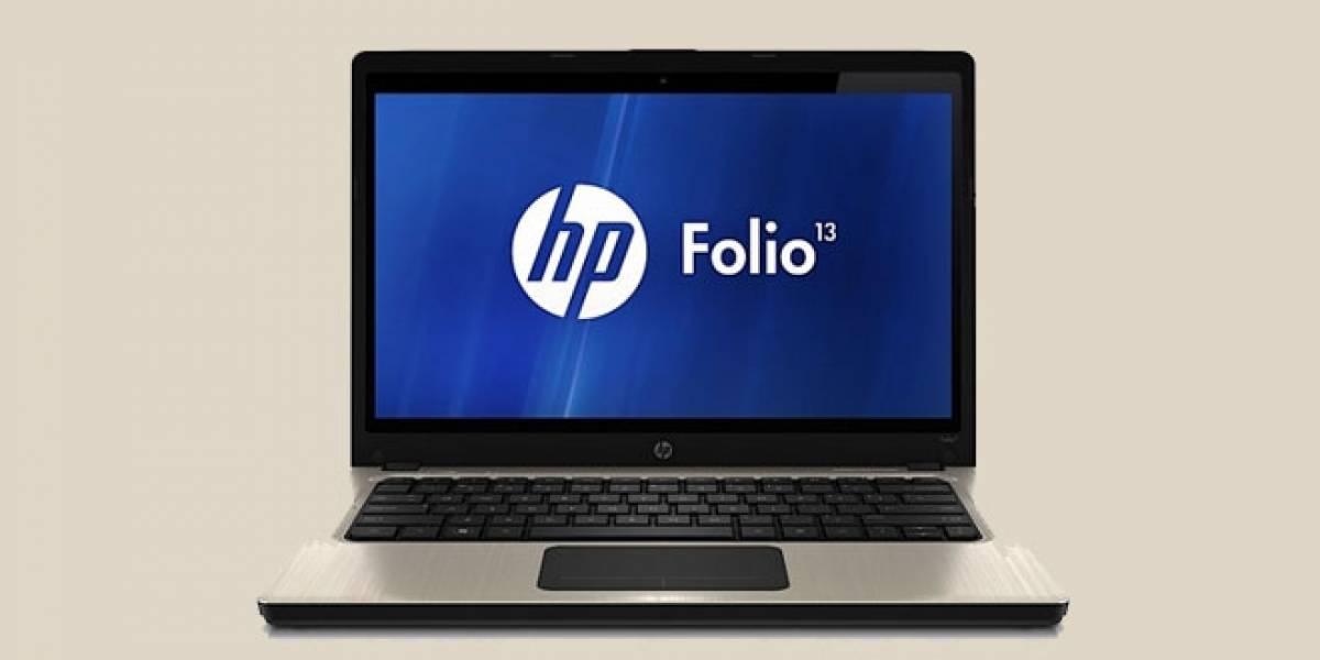Folio, el ultrabook 13 pulgadas de HP, llega a España en febrero