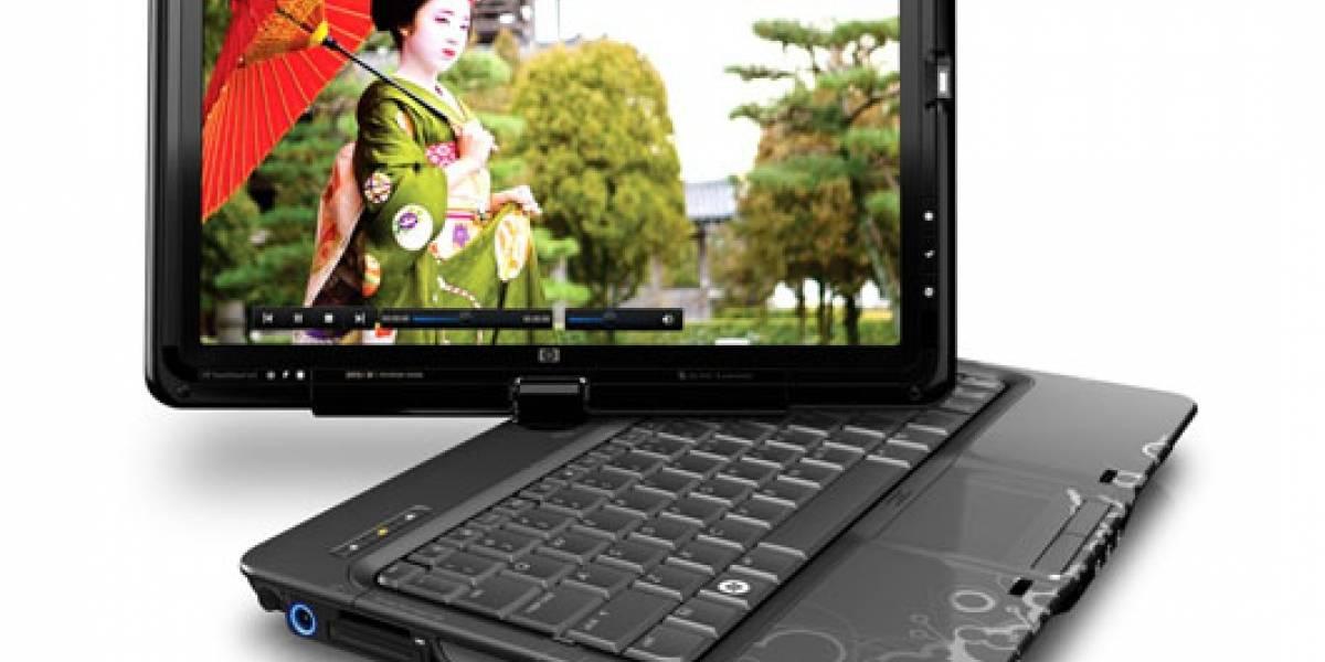 HP TouchSmart TX2, el portátil táctil multi punto