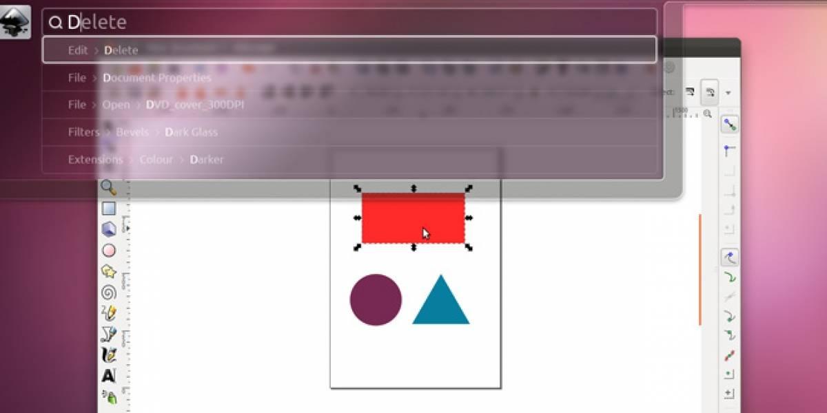 Ubuntu intentará crear interfaz sin menú