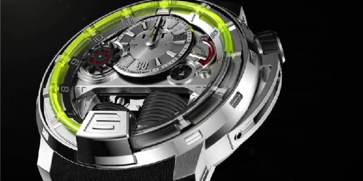 HYT H1, un reloj con pistones y líquido, como una bomba de tiempo de muñeca