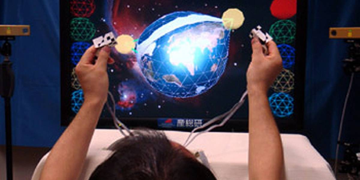 """Investigadores japoneses desarrollan tecnología de televisión 3D """"táctil"""""""