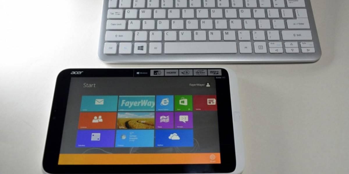 Acer ya piensa en sustituir la Iconia W3