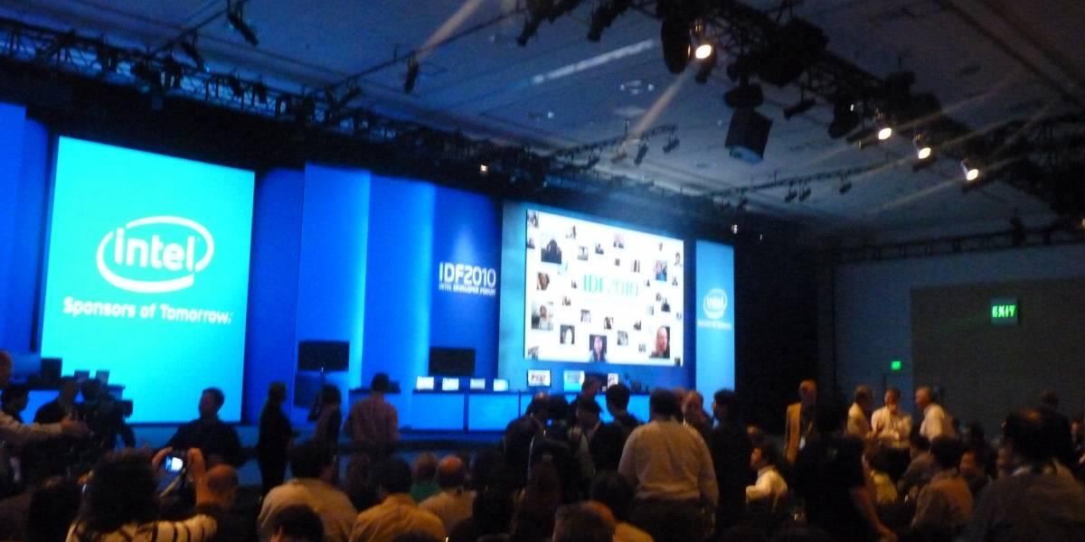 IDF 2010: Sandy Bridge y los planes móviles de Intel