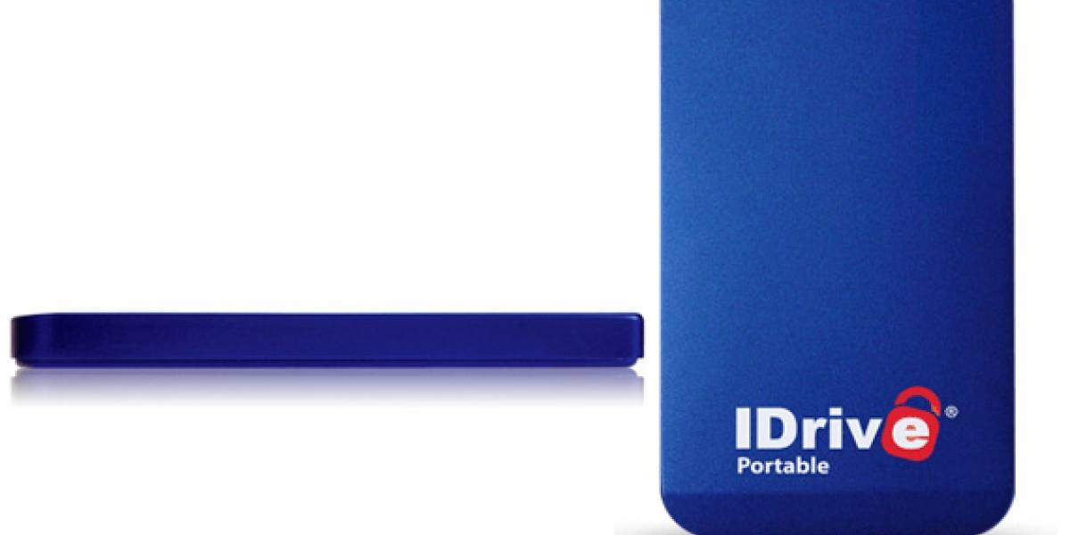 IDrive Portable Drive: 320GB de almacenamiento portátil