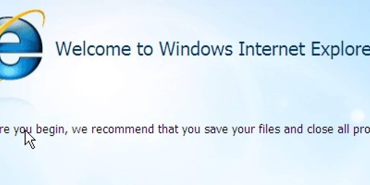 Microsoft Internet Explorer 8 RC1 ya está disponible