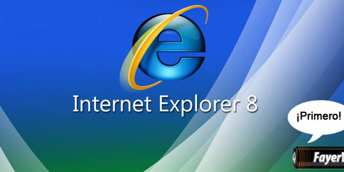 Internet Explorer 8 versión final hoy jueves en MIX09 [Actualizado]