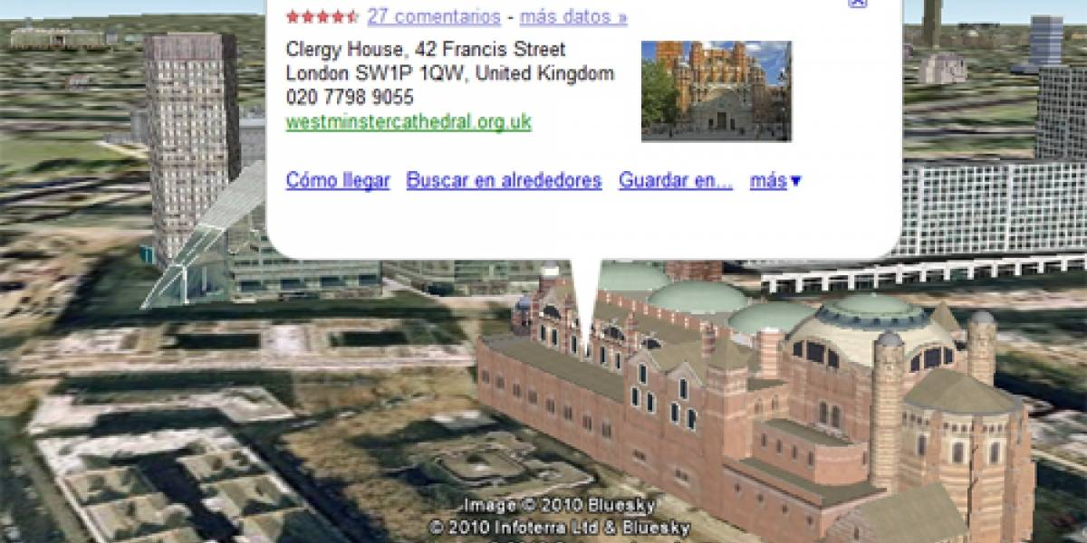 WTF: Ladrones británicos ubican iglesias con Google Earth para robarles el plomo del techo