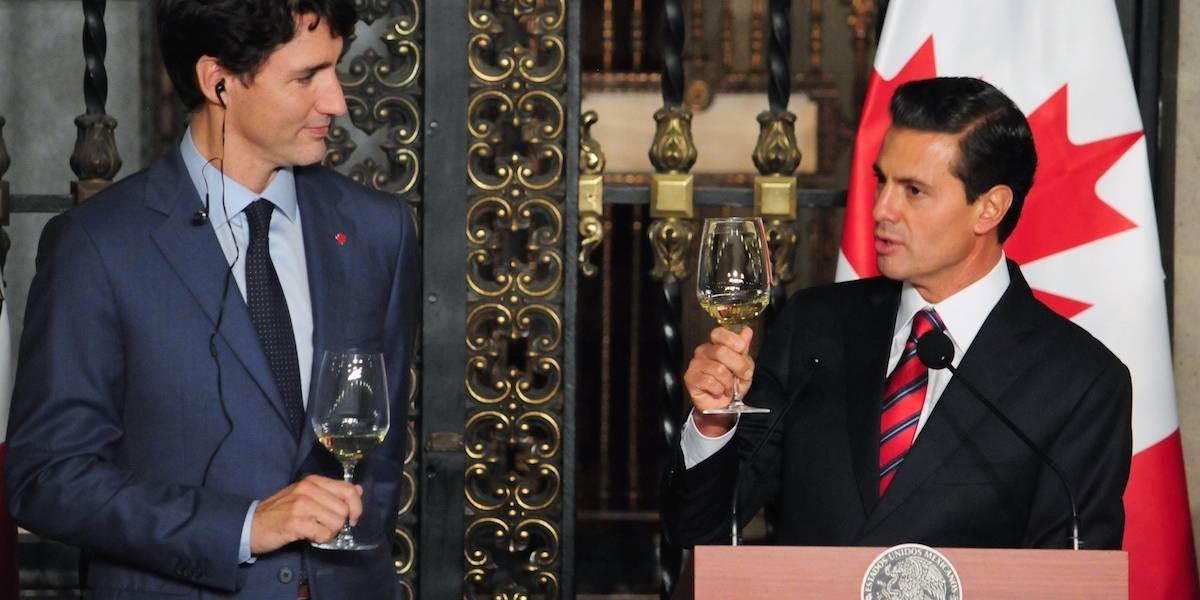 Canadá y México reiteran su convicción por mantener el TLCAN: Presidencia