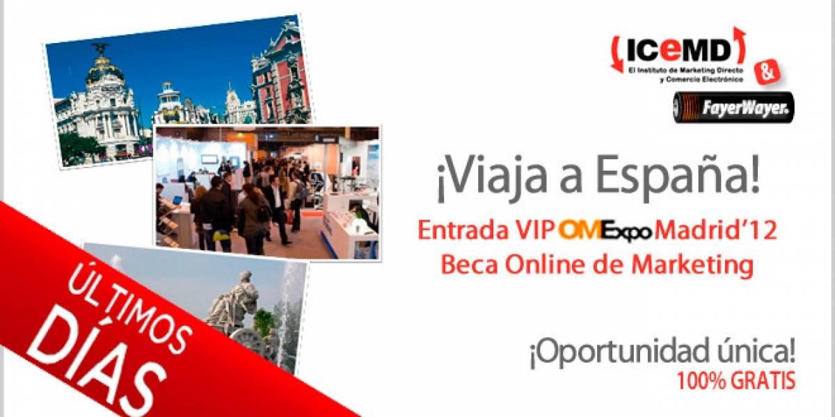 Últimos días para participar y ganar un viaje 100% gratis a España y una entrada VIP a OMEXPO 2012