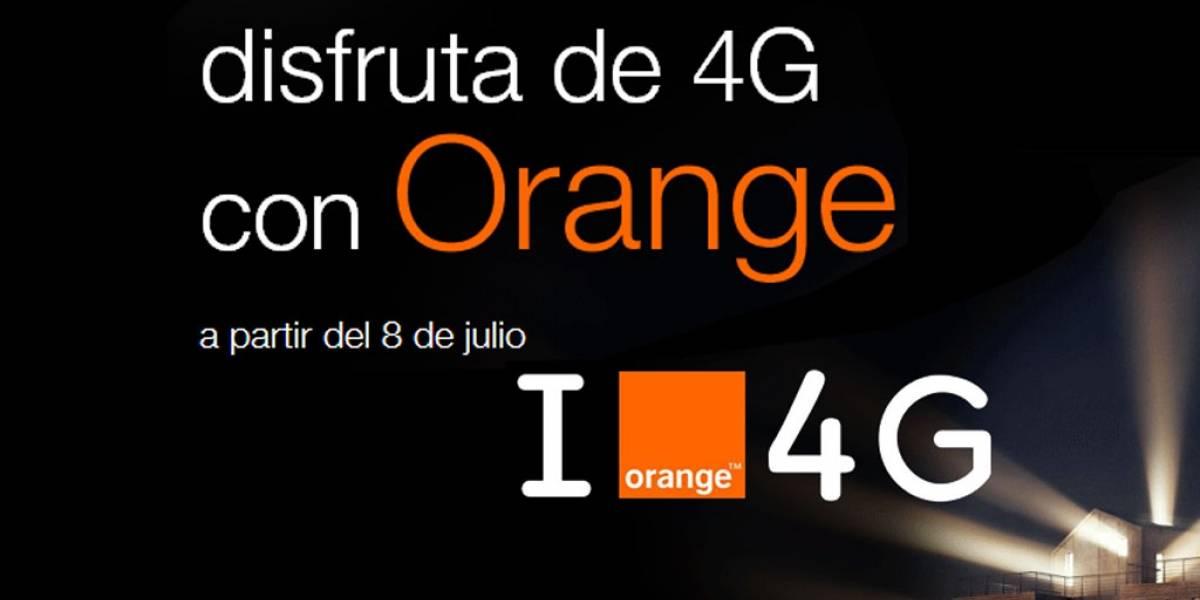 Conoce las nuevas tarifas 4G de Orange
