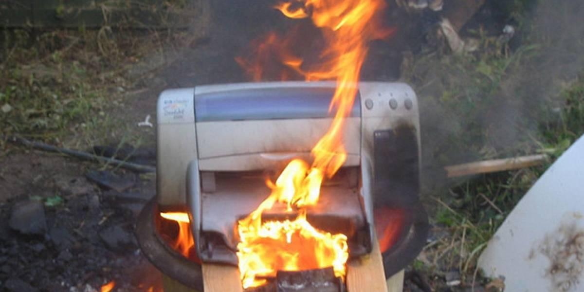 Investigadores alertan que las impresoras pueden ser hackeadas fácilmente (Actualizada)