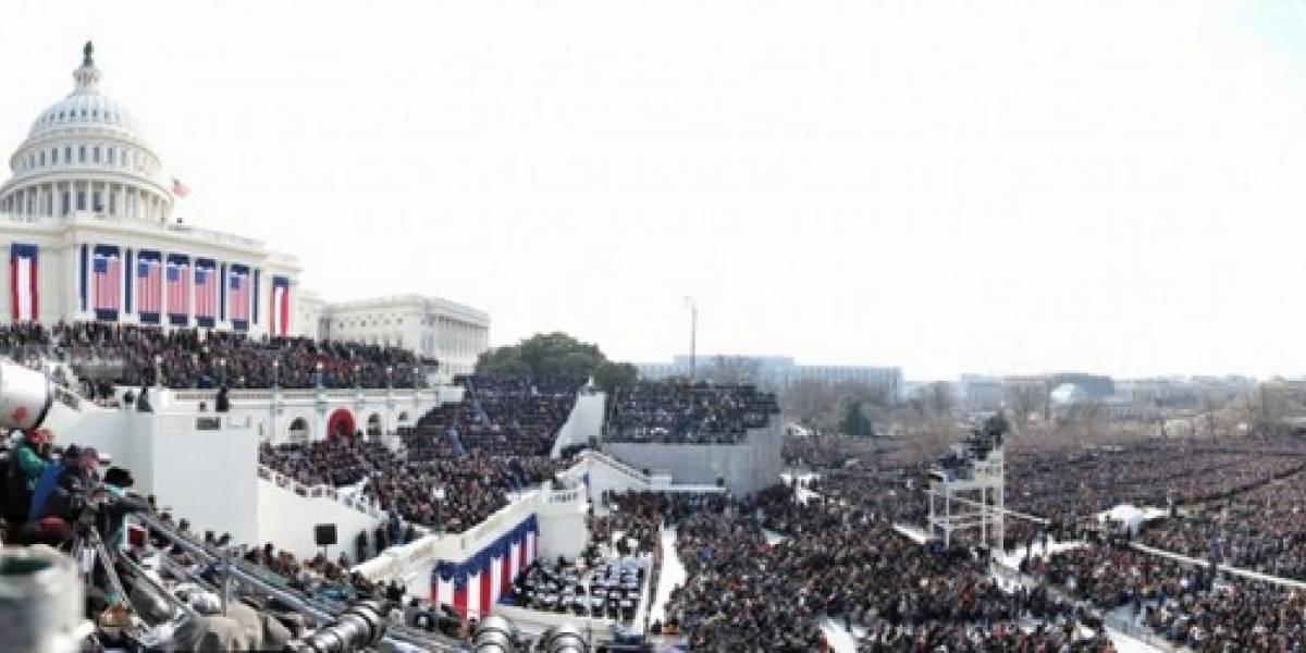 Imperdible: Foto de 1.474 megapixeles y 2GB de la Inauguración Presidencial