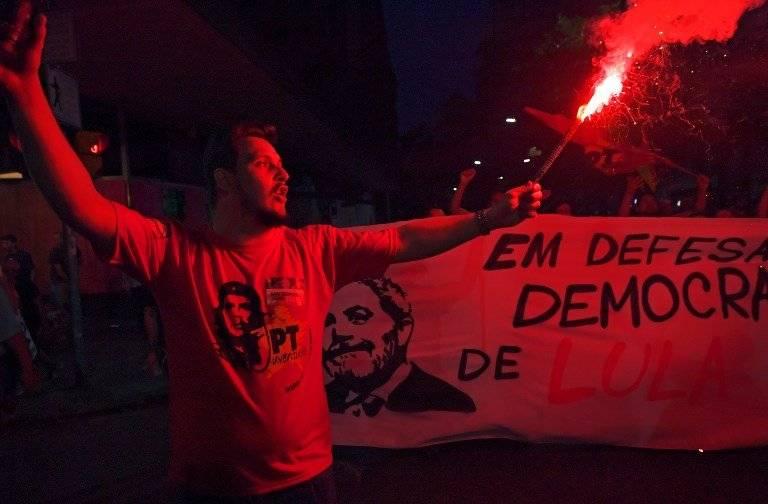 Protestas en Brasli