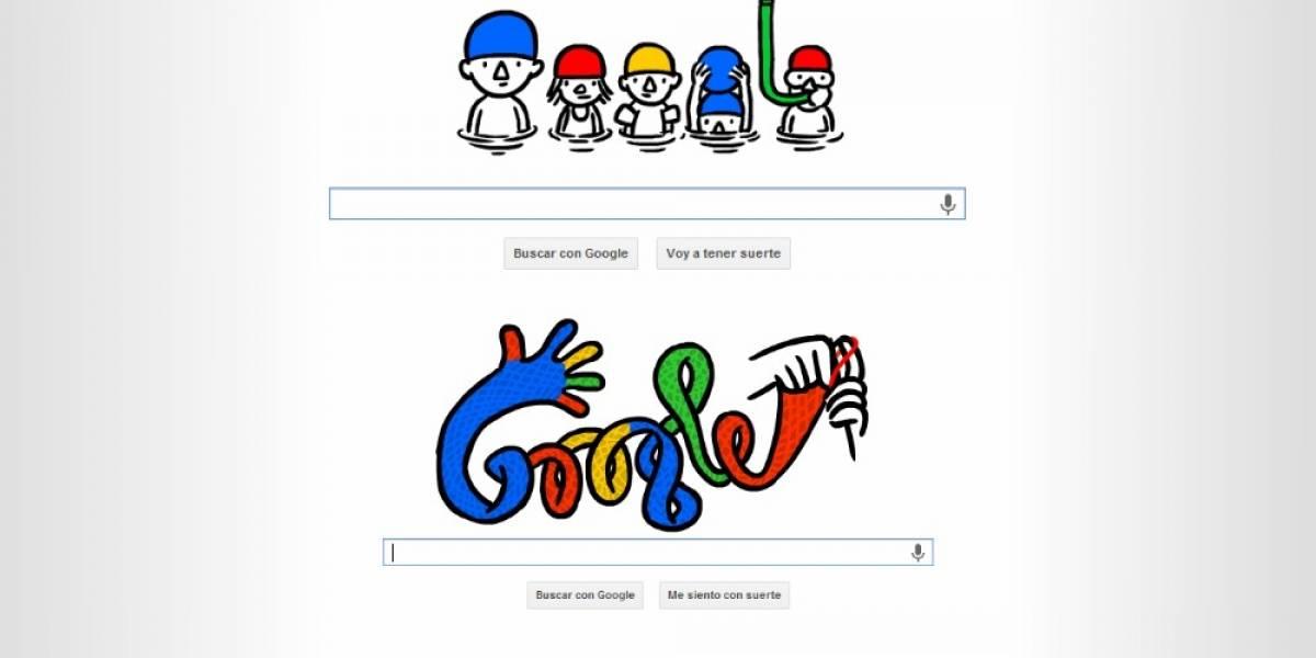 Google da la bienvenida al invierno y al verano con doodles especiales