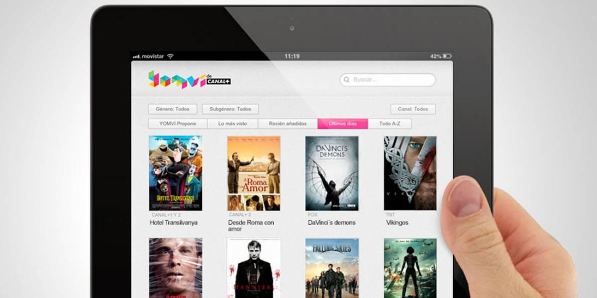 Canal+ Yomvi desactiva la reproducción externa en iPhone e iPad