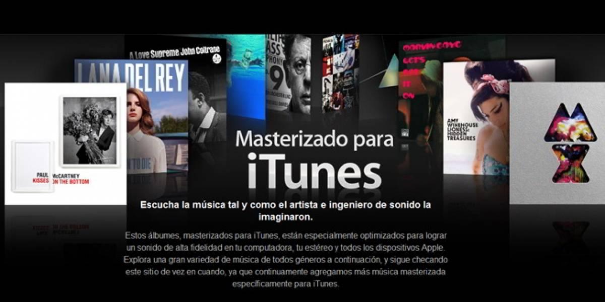"""Apple presenta """"Masterizado para iTunes"""" para los amantes de la alta fidelidad"""