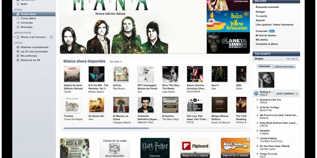 iTunes Store Latinoamérica [FW Labs]