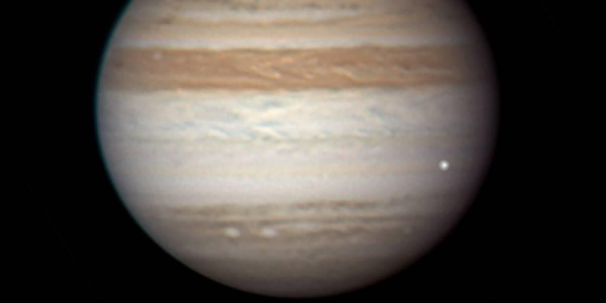 Registran un nuevo impacto sobre Júpiter