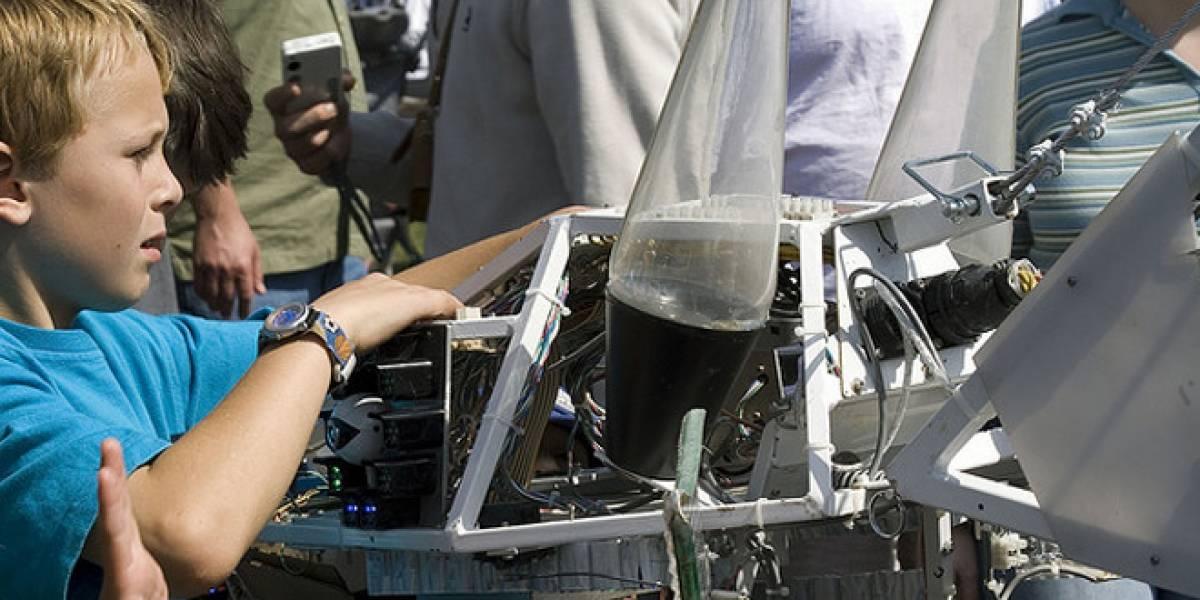 Niños construyen robots que puedan salvar vidas en catástrofes