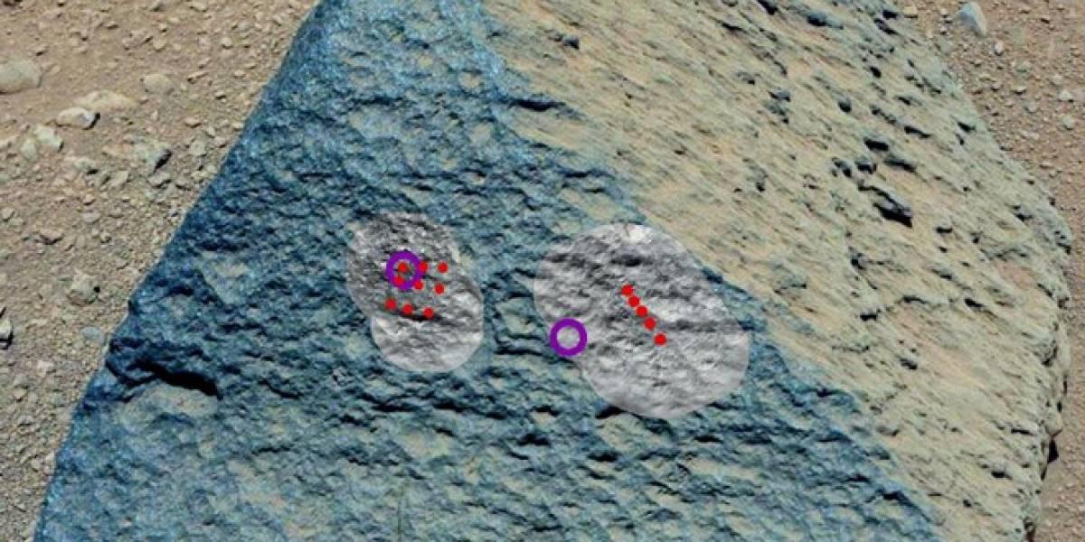 Curiosity encuentra un tipo de roca que no había sido vista en Marte hasta ahora
