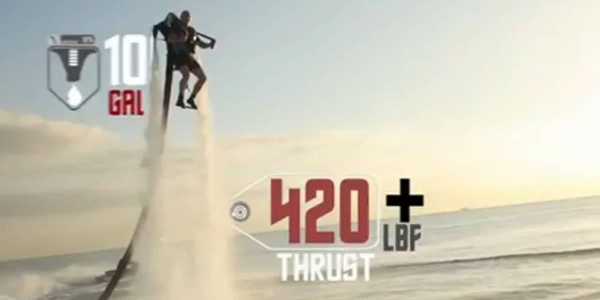 Cómprate un Jetpack acuático por sólo US$95,000