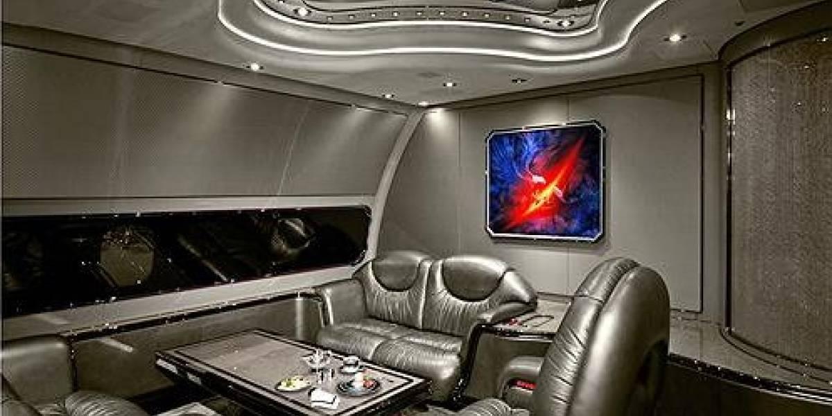 Imágenes de los aviones más lujosos del planeta