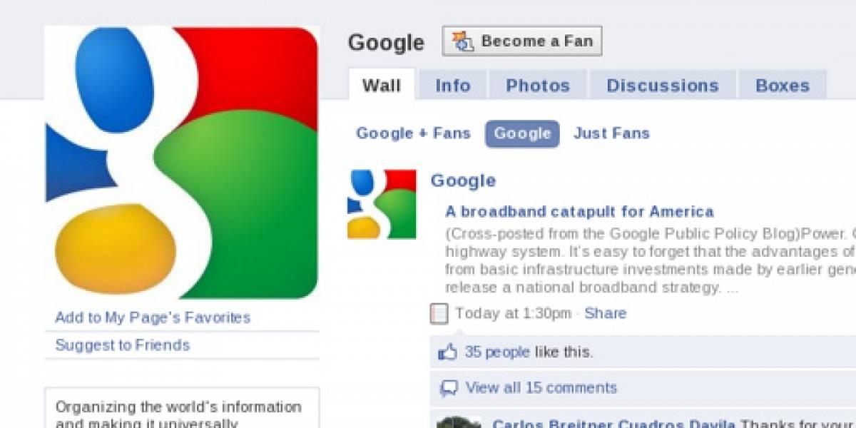 Facebook se salta la restricción de Google para agregar contactos