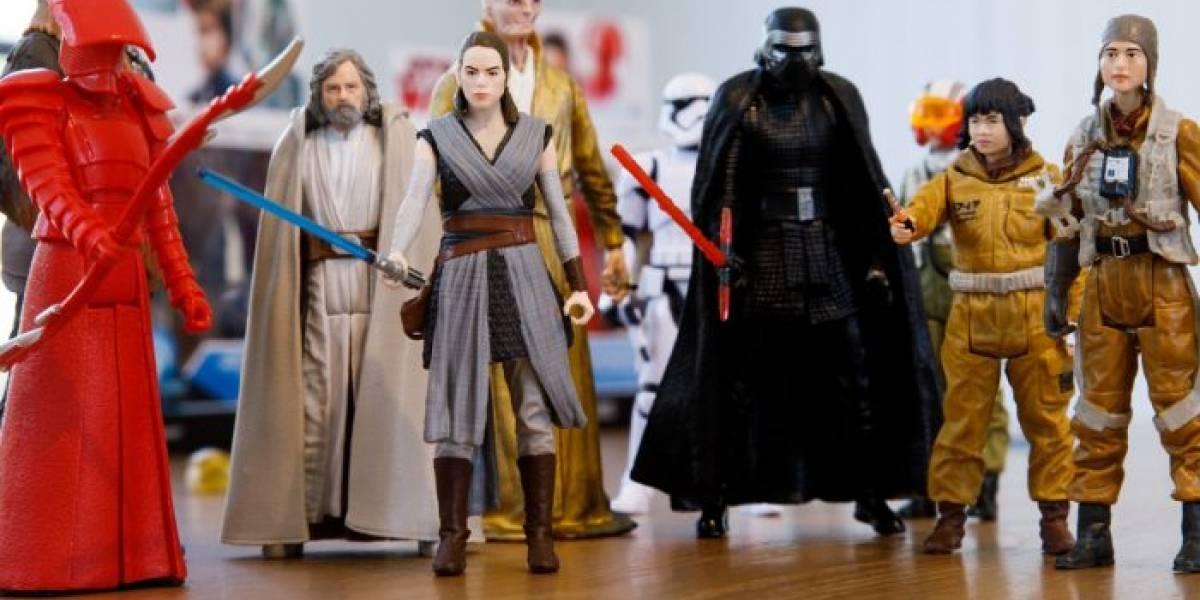 The Last Jedi no evitó que cayeran las ventas de juguetes de Star Wars