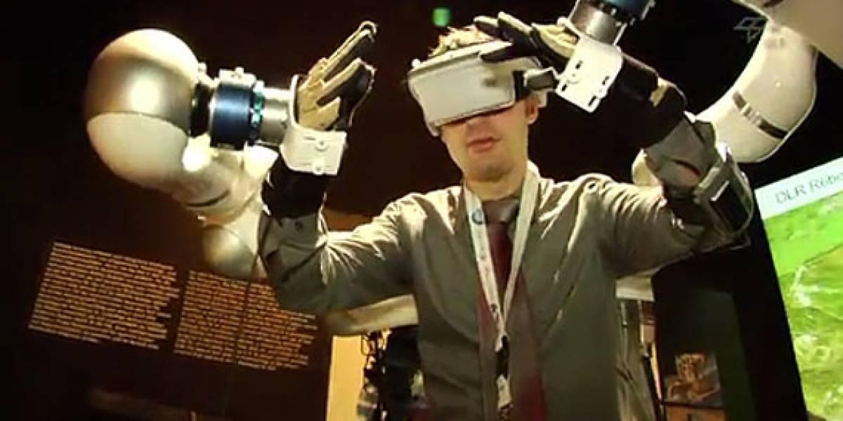 Justin: El robot que algún día ayudará a reparar satélites