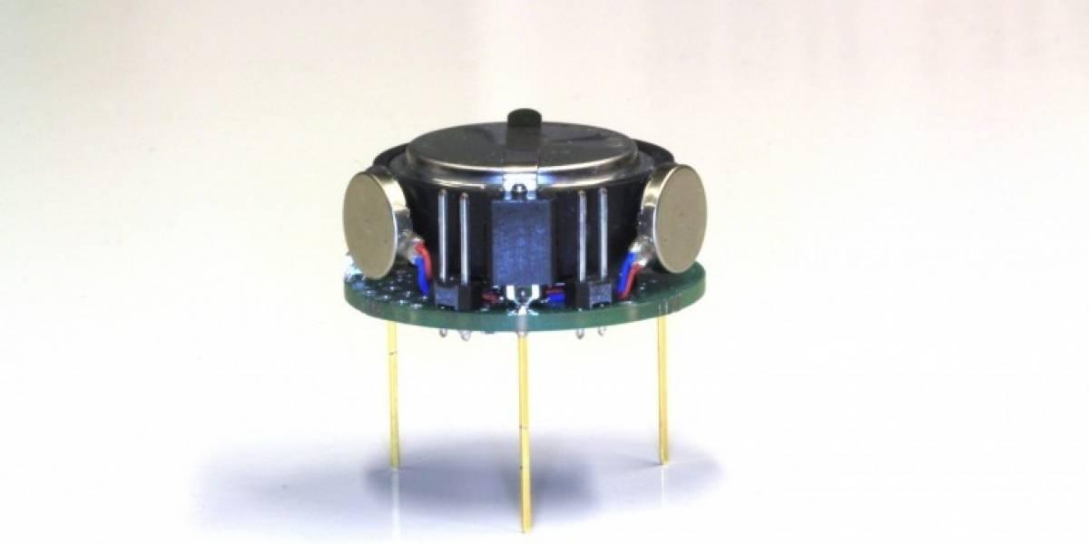 El Kilobot: Un robot del tamaño de una moneda