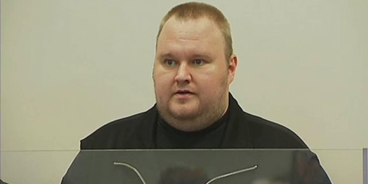 El fundador de MegaUpload, Kim Dotcom, fue liberado bajo fianza