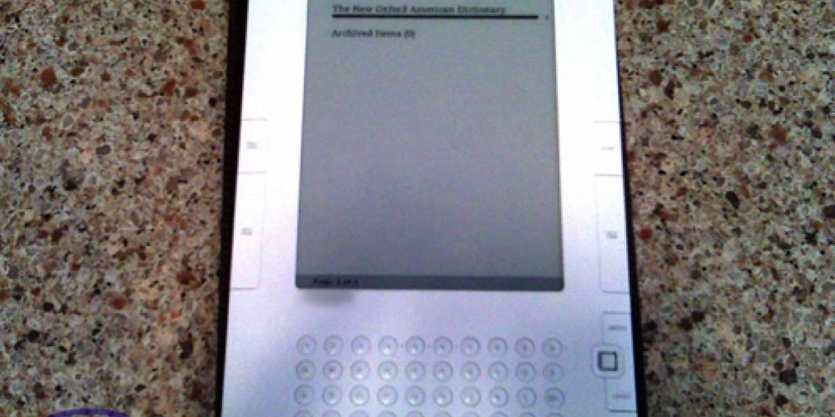 Futurología: Amazon anunciaría oficialmente el Kindle 2