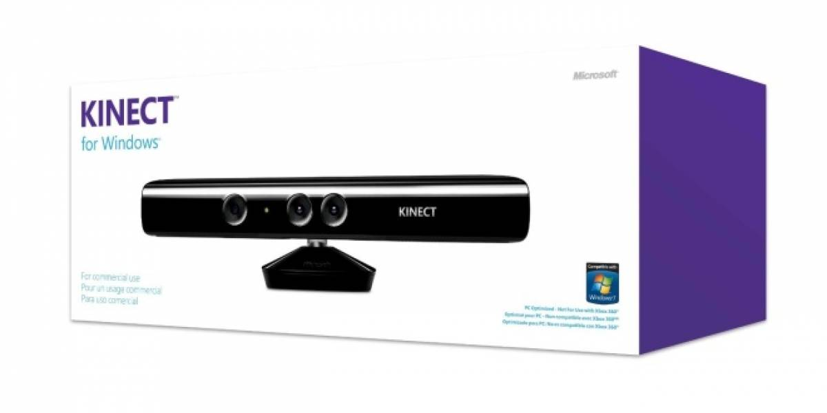 Kinect para Windows estará disponible a partir de hoy