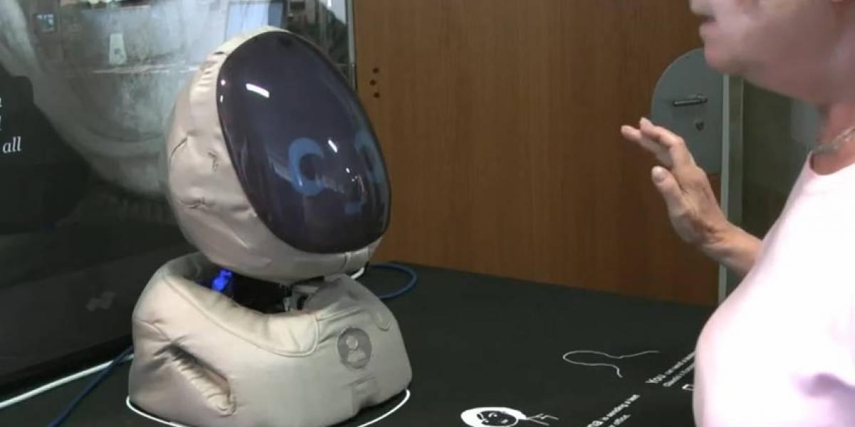Kompott: Cabeza robot con comunicación intuitiva