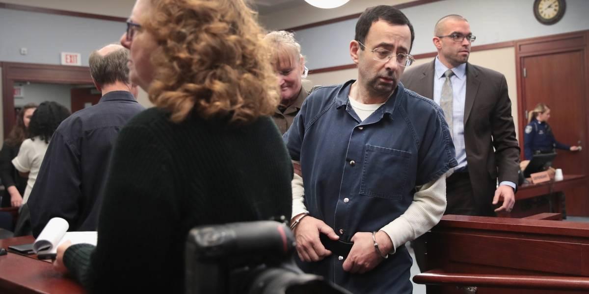 Sentencian a 175 años de cárcel a médico que abusó sexualmente de gimnastas