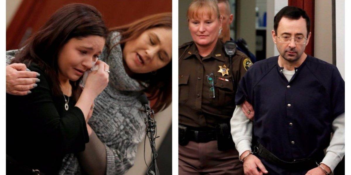 """""""¡Usted no merece caminar fuera de una prisión nunca más!"""", Larry Nassar es sentenciado"""