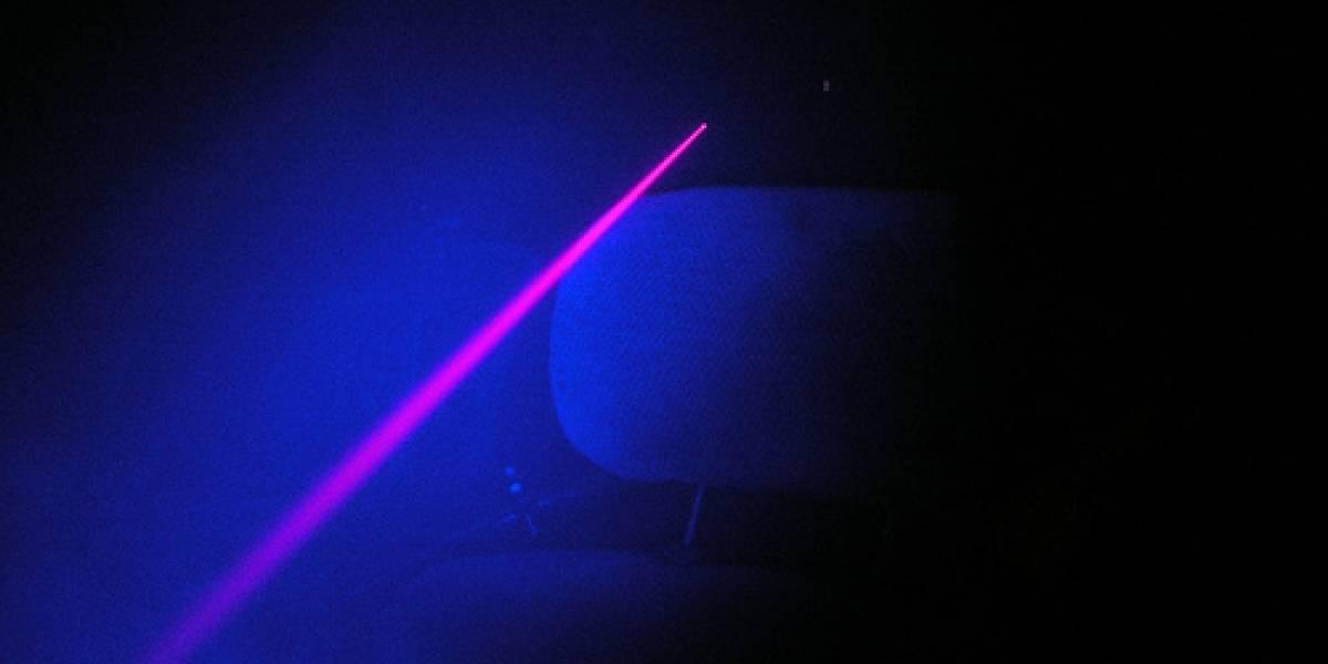 """Científicos inventan """"láser de pulso oscuro"""" que usa oscuridad en vez de luz"""