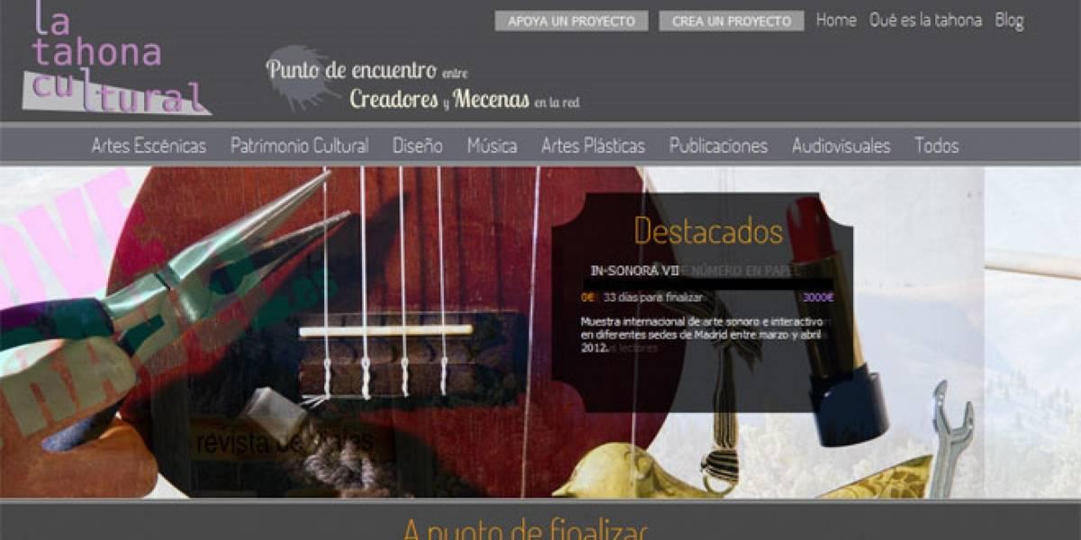 Nace LaTahonaCultural: Una plataforma de crowdfunding para apoyar a la cultura española