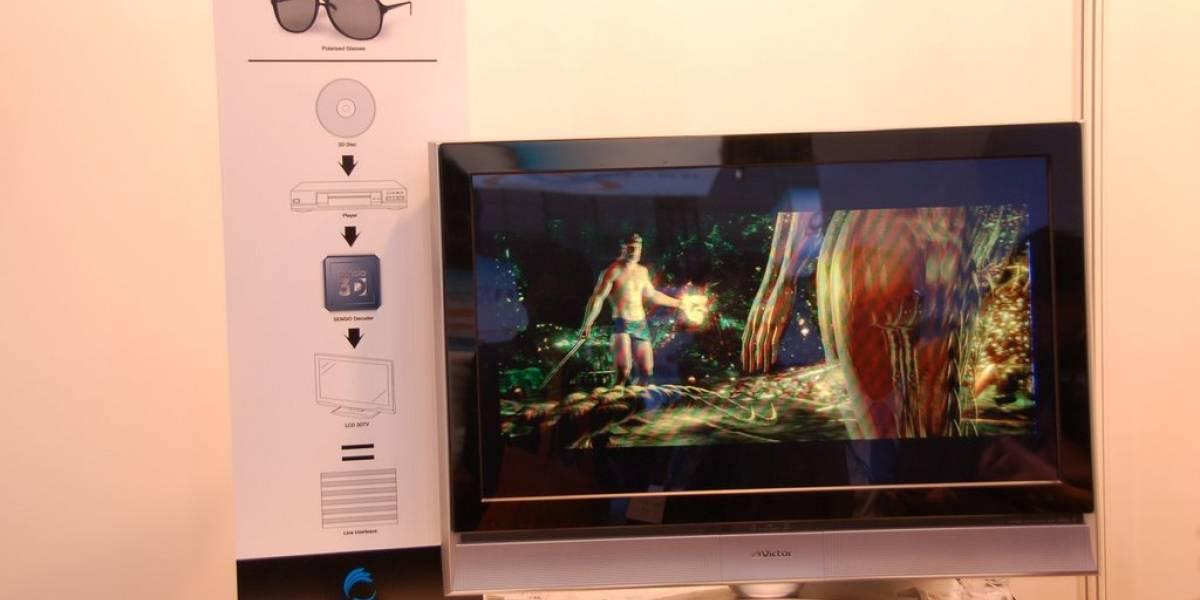 El 2015 comenzarán a masificarse los televisores 3D que no requieren lentes especiales