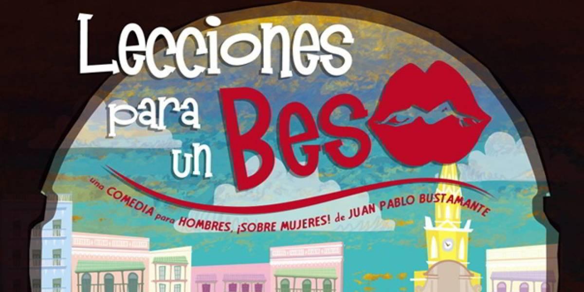 """La película colombiana """"Lecciones para un Beso"""" se estrenó hoy en Facebook"""