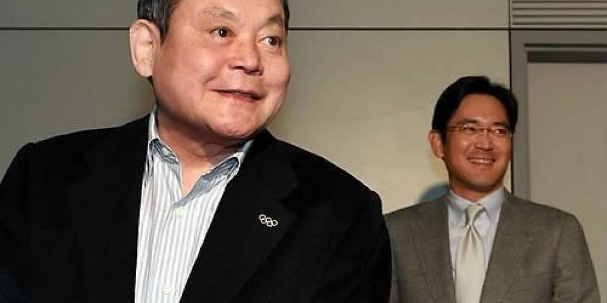 El hijo del actual presidente de Samsung lo reemplazará en el cargo
