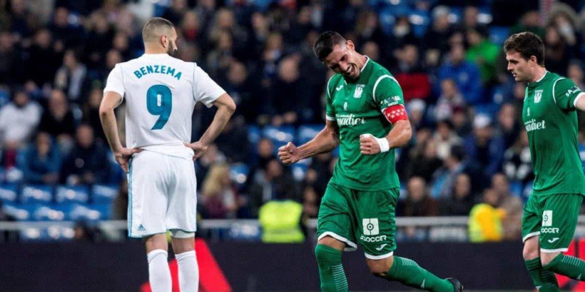 El Leganés hace historia y empuja al Real Madrid al abismo