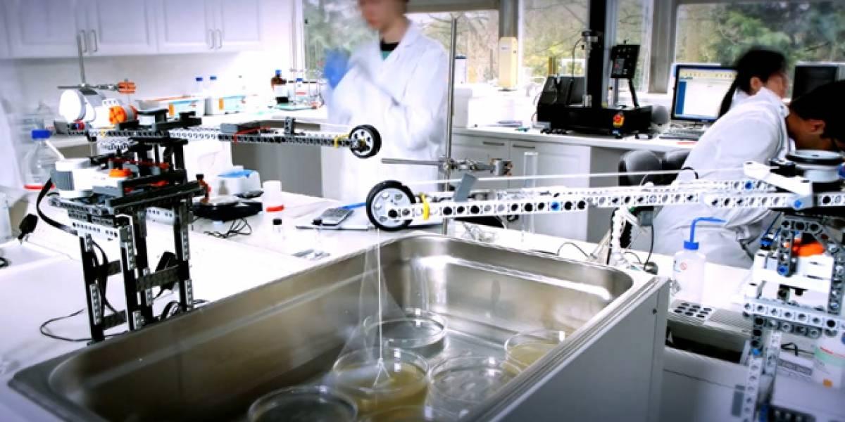 Crean huesos artificiales con la ayuda de Lego
