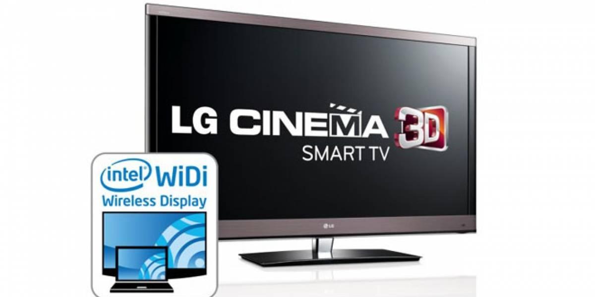 LG incorporará la tecnología WiDi en los nuevos Cinema 3D Smart TVs
